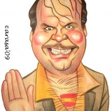 Caricatura de Santiago Segura, Torrente