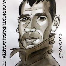 Caricaturas de famosos: Harrison Ford en Blade Runner