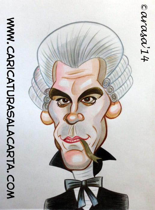caricatura rapida color famosos john malkovich ¡BIENVENIDOS!
