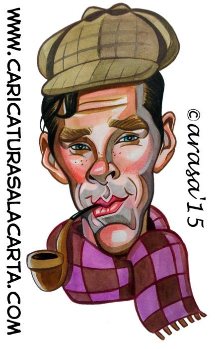 divertida caricatura de sherlock - photo #47