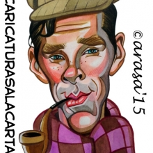 divertida caricatura de sherlock - photo #16