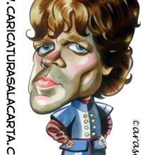 Caricaturas de famosos: Peter Dinklage