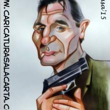 Liam Neeson, caricaturas de famosos