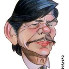 Caricaturas de famosos: Charles Bronson