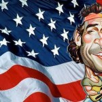 Wallpapers con caricaturas de famosos: Bruce Springsteen