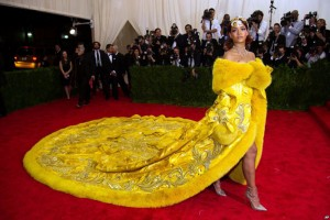 Rihanna en el Costume Institute 2015