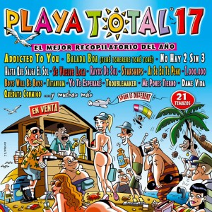 PLAYA TOTAL 17 2012 PORTADA 300x300 Disco del Verano: PLAYA TOTAL 17 (Verano 2012)