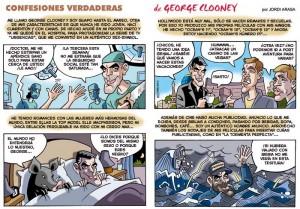 Cómic de George Clooney