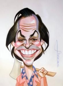 Caricatura Jack Nicholson