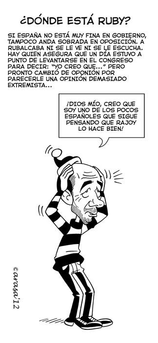 Humor gráfico. Chistes sobre el gobierno de Rajoy