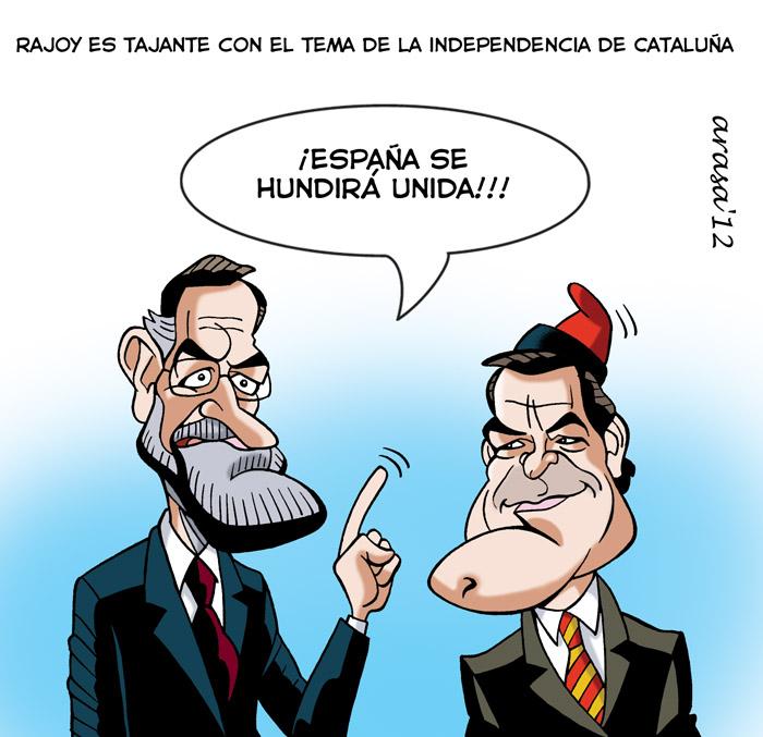 humor, gráfico, chiste sobre independentismo catalán