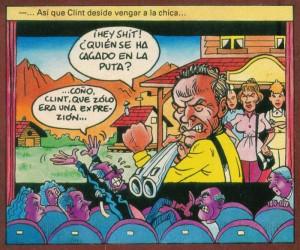 Caricaturas de famosos: Clint Eastwood Al Aataque