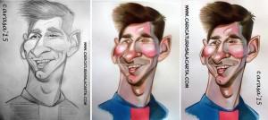 caricaturas-futbolistas-famosos-leo-messi-caricatura-rapida-proceso