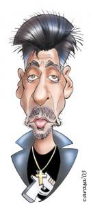 Caricaturas de famosos: Al Pacino, digital