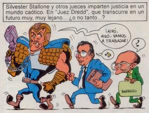Caricaturas de famosos: Sylvester Stallone digital para Mortadelo