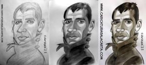 caricaturas-de-famosos-caricatura-rapida-harrison-ford-blade-runner-proceso