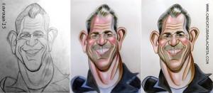 caricaturas-de-famosos-caricatura-rapida-mel-gibson-mad-max-proceso