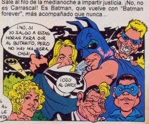 Caricaturas digitales de famosos: Val Kilmer (Batman) y Jim Carrey