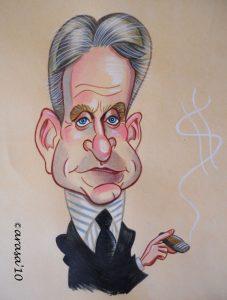 Caricaturas de famosos: Michael Douglas