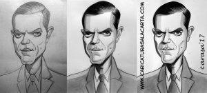 Caricaturas de famosos: Michael Shannon (proceso de creación)