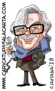 Caricaturas diggitales de famosos: Antonio Mercero