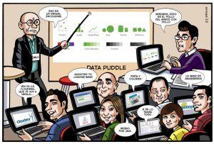 viñetas cómic con caricaturas personalizadas