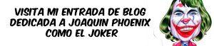 Caricatura Joaquin Phoenix Joker para entrada blog